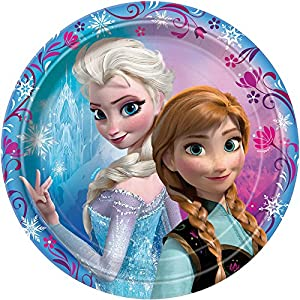 "7"" Disney Frozen Dessert Plates, 8ct by Unique"