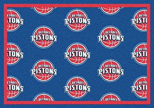 Detroit Pistons NBA Area Rug (10'9