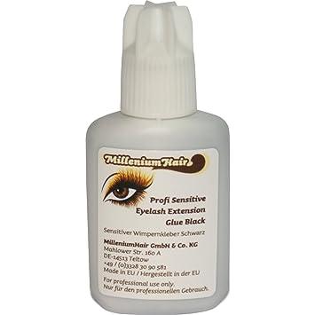 0c6d90a102da5 Now the price for click the link below to check it. MilleniumHair  Sensitiver - Allergiker - Profi Wimpernkleber - Lashes Glue (7 g) Schwarz.