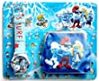 Smurfs Children's Watch Purse Clutch Wallet Set For Kids Children Girls Great Christmas Gift Gifts Present - Sold by Happy Bargains Ltd