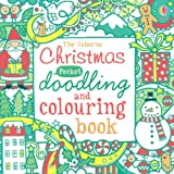 Fiona Watt Christmas Pocket Doodling and Colouring Book (Usborne Drawing, Doodling and Colouring)