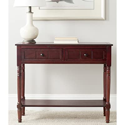 Console Tables Color Dark Cherry