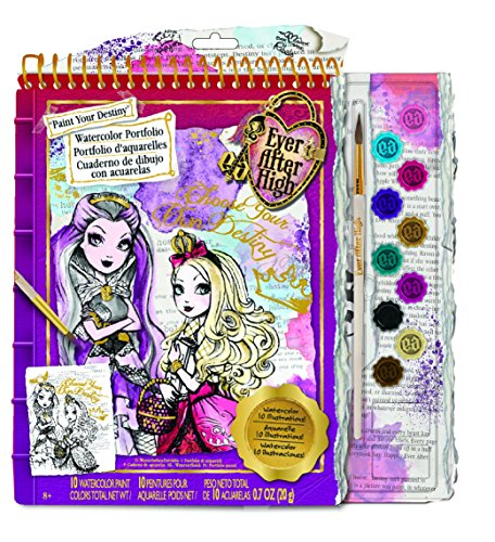 Fashion Angels Ever After High Watercolor Portfolio - 1