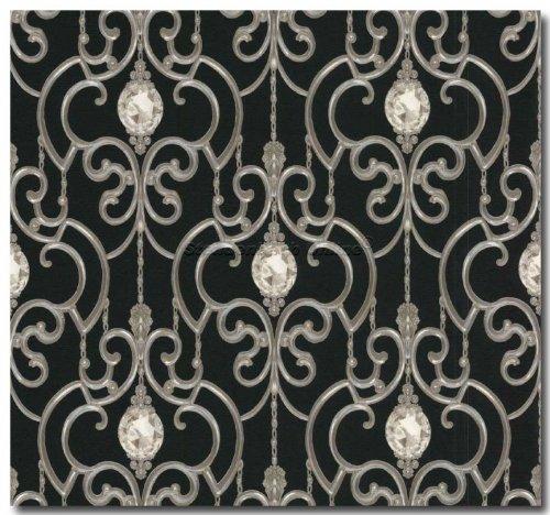 tapete barock klassische tapeten barock juwel muster hermitage. Black Bedroom Furniture Sets. Home Design Ideas