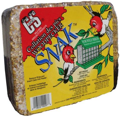Cheap C & S Products Woodpecker Snak, 6-Piece (CS06207)