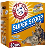 Arm & Hammer Super Scoop Clumping Litter, Unscented