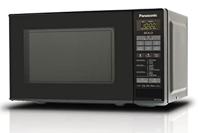 Panasonic 20 L Solo Microwave Oven (NN-ST266BFDG, Black) at amazon