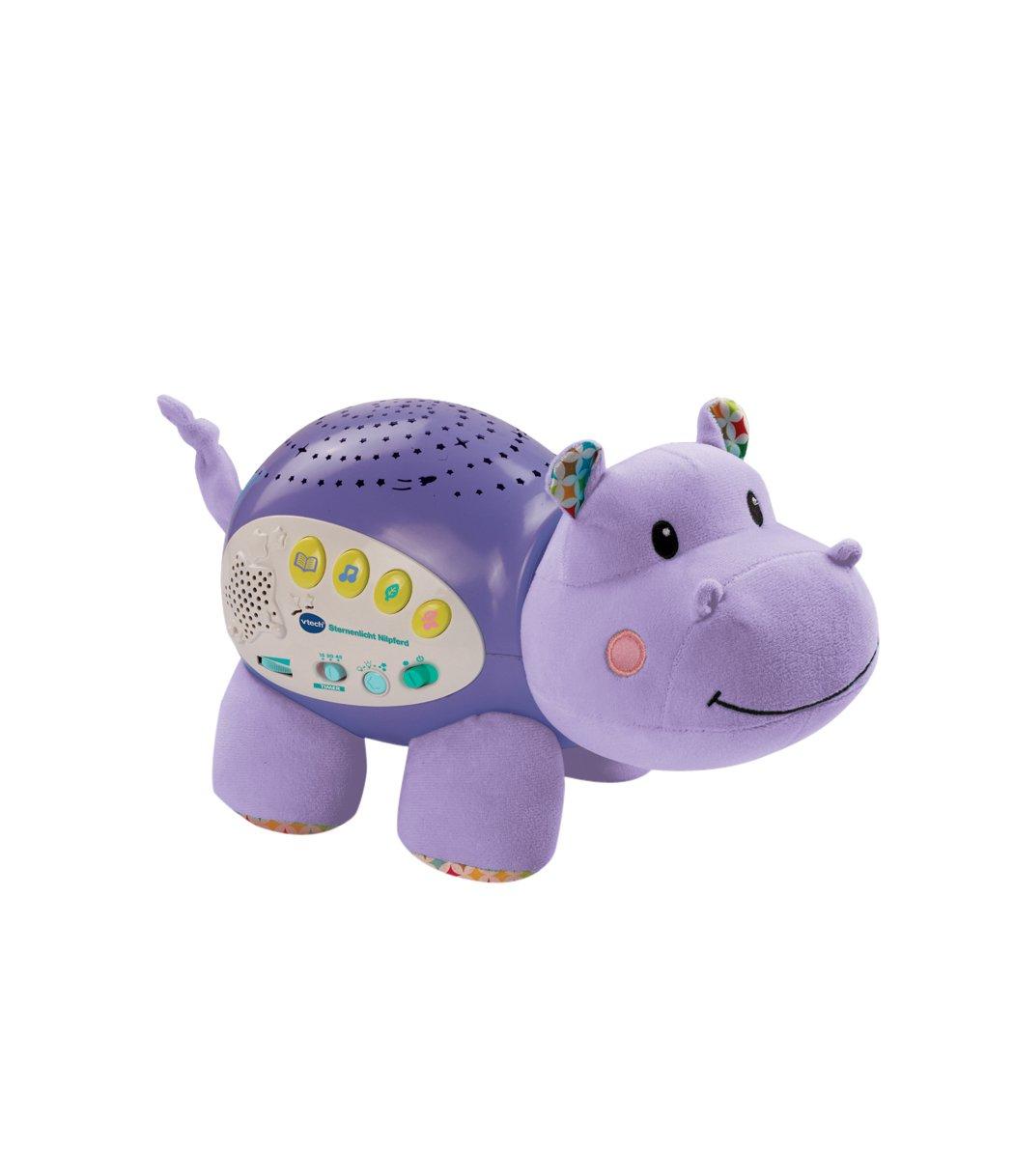 VTech Baby 80-180904 – Spieluhr – Sternenlicht Nilpferd günstig als Geschenk kaufen