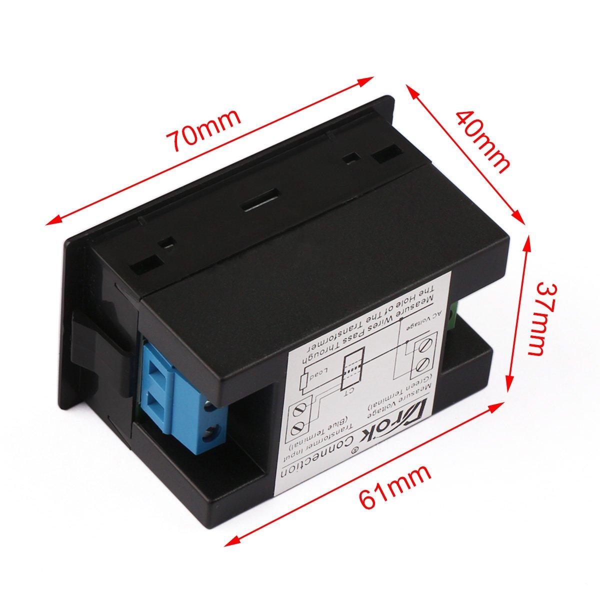Isolation Transformer And Variac Setup Digital Volt Amp Meter Wiring Http Ecximages Amazoncom Images I 61 E83mtjfl Sl1200