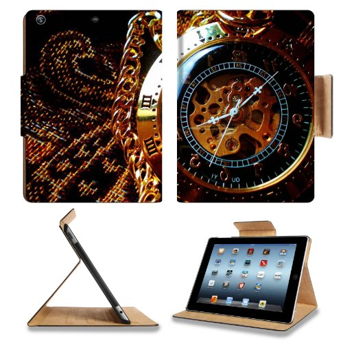 Steampunk Clock Work Pocket Watch Apple Ipad Air Retina Display 5th Flip Case Stand Smart Magnetic Cover Open Ports Customized Made to Order Support Ready Premium Deluxe Pu Leather 9 7/16 Inch (240mm) X 7 5/16 Inch (185mm) X 5/8 Inch (17mm) MSD Ipad Professional Ipad generation Accessories Retina Display Graphic Background Covers Designed Model Folio Sleeve HD Template Designed Wallpaper Photo Jacket Wifi 16gb 32gb 64gb Luxury Protector