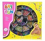 Toy - Simba 106371714 - Art & Fun Perlenschmuckset mit 5.000 Perlen, 2-sort.