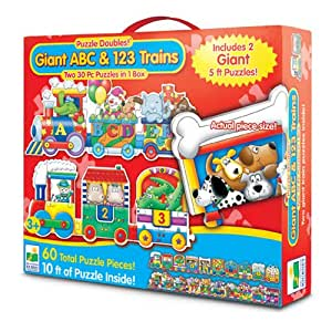 Amazon Com The Learning Journey Puzzle Doubles Giant Abc