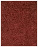Anji Mountain Silky Shag Crimson Rug 5' x 8'