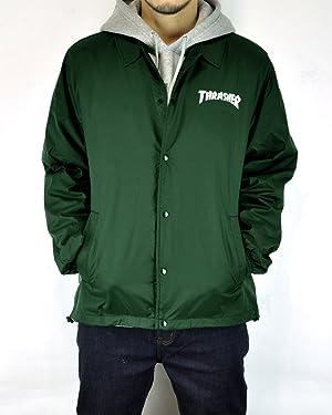THRASHER(スラッシャー)マグロゴ コーチジャケットTH8901C