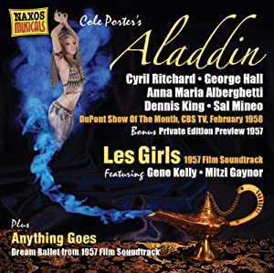 Porter Aladdin Aladdin Les Girls 1957 Film Soundtrack Anything Goes by NAXOS