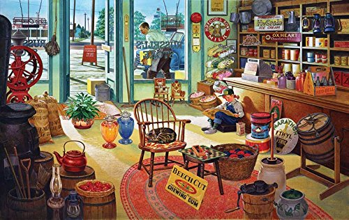 Russel's General Store a 550-Piece Jigsaw Puzzle by Sunsout Inc.