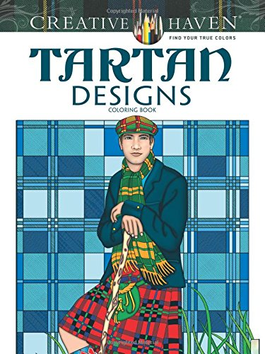 Tartan Designs Coloring Book