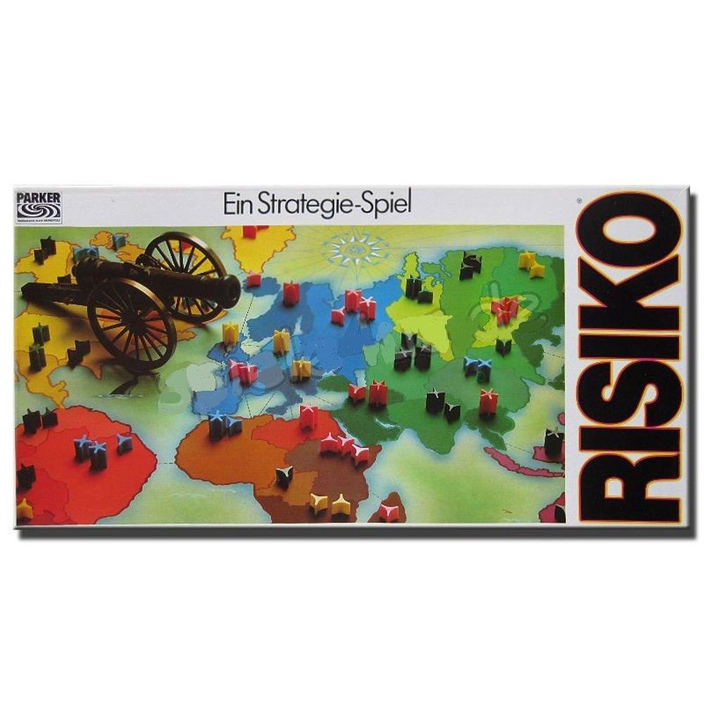 Risiko – Ein Strategiespiel. Das Brettspiel (Erscheinungsjahr 1982) als Geschenk