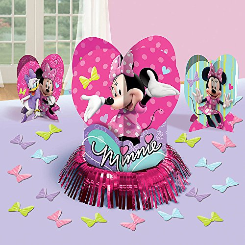 Minnie Mouse Centerpiece Kit 23 Pc.