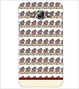 PrintDhaba Pattern D-1990 Back Case Cover for SAMSUNG GALAXY E7 (Multi-Coloured)