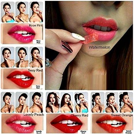 Buy Romantic Bear 12 hours Smudge proof Lipstick Tatoo (Lovely ...