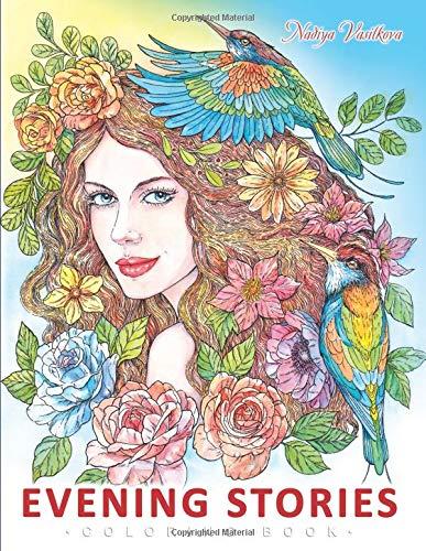Evening Stories Coloring book [Vasilkova, Nadiya] (Tapa Blanda)