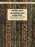 African-American Poetry: An Anthology, 1773-1927 (Dover Thrift Editions)