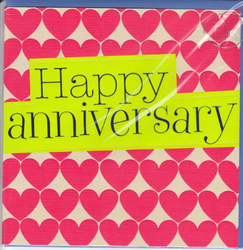 Large Happy Anniversary Card