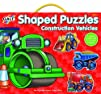 Galt Toys Inc Shaped Construction Vehicles Puzzle