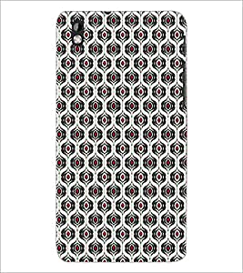 PrintDhaba Pattern D-5923 Back Case Cover for HTC DESIRE 816 (Multi-Coloured)