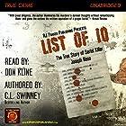 List of 10: The True Story of Serial Killer Joseph Naso Hörbuch von C L Swinney Gesprochen von: Don Kline