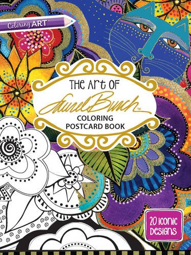 the-art-of-laurel-burchtm-coloring-postcard-book-20-iconic-designs
