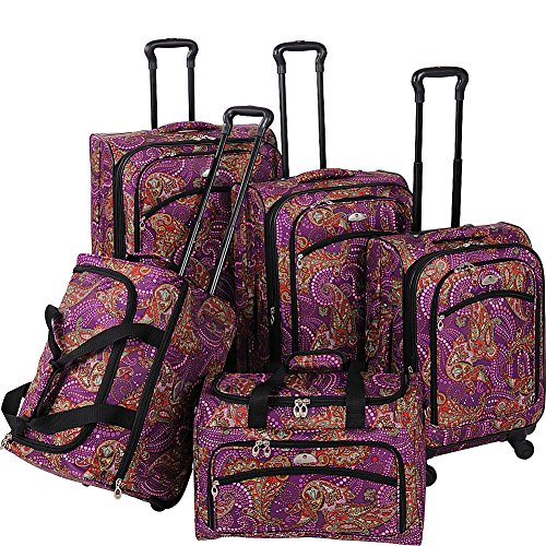 american-flyer-luggage-paisley-5-piece-set-spinner-purple-one-size