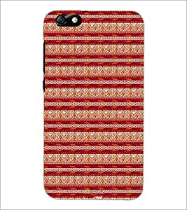 PrintDhaba Tribal pattern D-1984 Back Case Cover for HUAWEI HONOR 4X (Multi-Coloured)