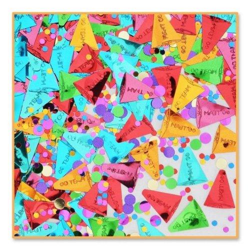 Beistle CN086 Go Team Confetti