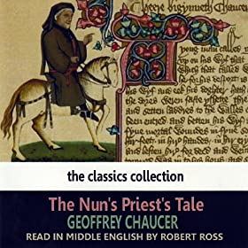 A comparison of the pardoners tale and the nuns priests tale by geoffrey chaucer