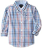 Tommy Hilfiger Baby-Boys infantil Langley manga larga Popelina Camisa, blanco, 12 Meses Color: blanco Tamaño: 12 Meses (Baby/Babe/Infant - Little Ones)