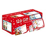 Christmas Collection Tallon - Pack de 120 etiquetas adhesivas, diseño de Navidad