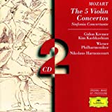 Mozart : Les 5 Concertos pour violon / Symphonie Concertante (Coffret 2 CD)