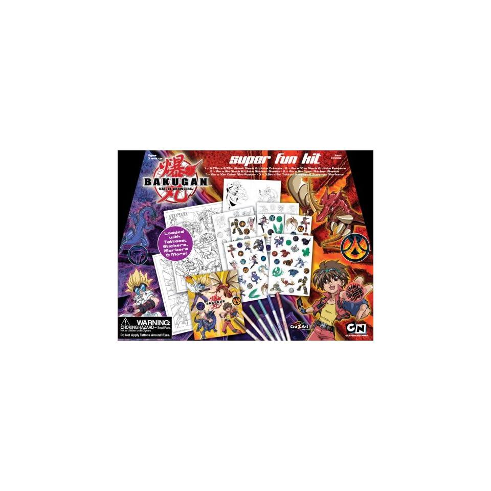 1 Kit CRA-Z-ART Bakugan Super Fun Kit