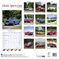 Sports Cars Calendar - Classic Sports Cars Calendar- Calendars 2016 - 2017 Wall Calendars - Car Calendar - Automobile Calendar - Classic Sports Cars 16 Month Wall Calendar by Avonside