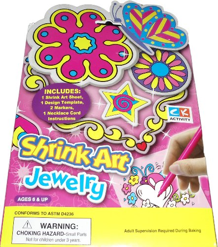 Shrink Art Jewelry by Creative Kids - 1