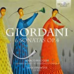 Tommaso Giordani: 6 Sonatas, Op. 4