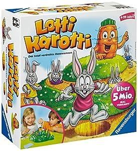 """Ravensburger 21556 - Kinderspiel Lotti Karotti"""""""
