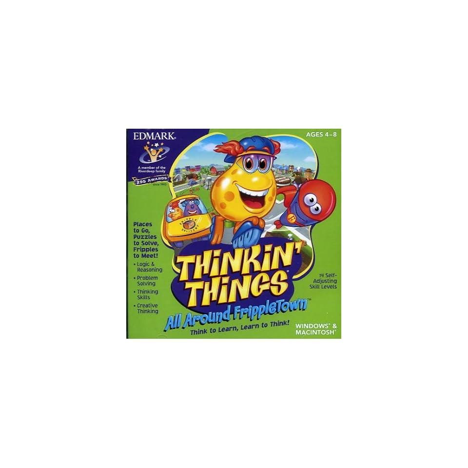 95//98 PC Kids Game XP Thinking Things Vista 7 Frippletown Windows 8