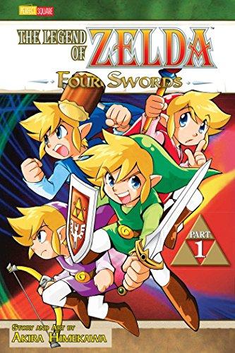 The Legend of Zelda: Four Swords - Part 1 (Zelda, #6)