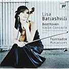 Beethoven - Violin Concerto / Tsintsadze - Miniatures