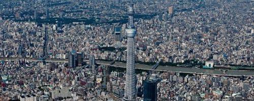 ポスター 東京スカイツリー Silent City TX-1845