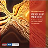 Hasse: Mass D Minor/ Miserere (Messe In D/ Miserere) (Capriccio: C5125)