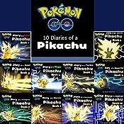 Pokemon Go: 10 Diaries of a Pikachu in 1: Pokemon Go Series, Books 1-10 | Tagashi Takashima